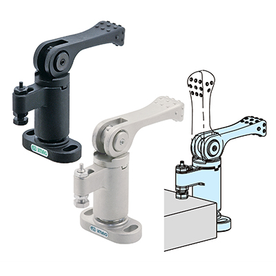 Manual quick clamps for machining - One-Touch Clamps | IMAO